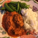 Chicken Tikka Masala. One of the most delicious things Ive eaten. Ive made it countless times since!