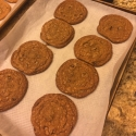 Chocolate Chip Cookies from Cooks Illustrated. They turned out huge!