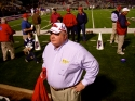 Daddy is about to walk on the field with the Ole Miss football team of 71! Go Daddy!