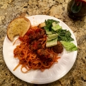 Viking Cooking School recipe for Spaghetti and Meatballs. Absolutely delicious and freezes well!